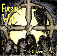 Front cover of record 'The Ravens Cry'